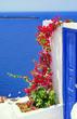 Leinwandbild Motiv Architecture on Santorini island, Greece