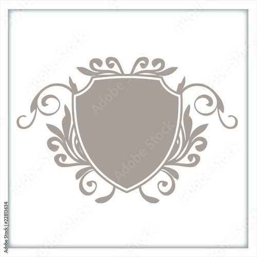 Foto  wappen logo schnörkel