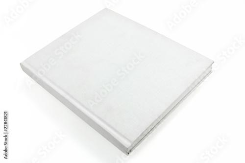 Valokuvatapetti white casebound book