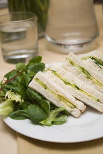 Cricketers Lunch : Cucumber Sandwiches