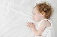 Adorable Toddler Girl Sleeping