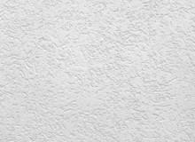 Weiße Fassade Mit Strukturputz