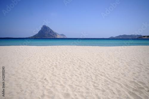 Photo  spiaggia di porto istana in sardegna