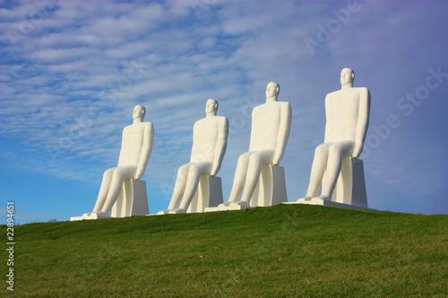 Cuadros en Lienzo White men in Denmark