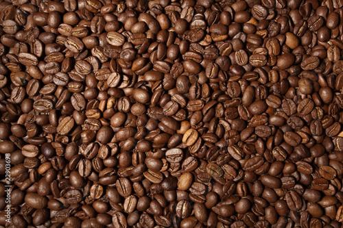 Deurstickers koffiebar Textur Kaffee