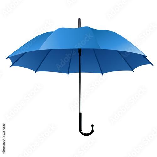 Juliste blue umbrella