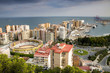 Panorama of Málaga