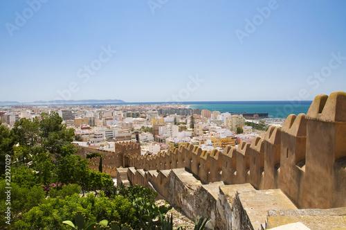 Panorama of Almería from Alcazaba
