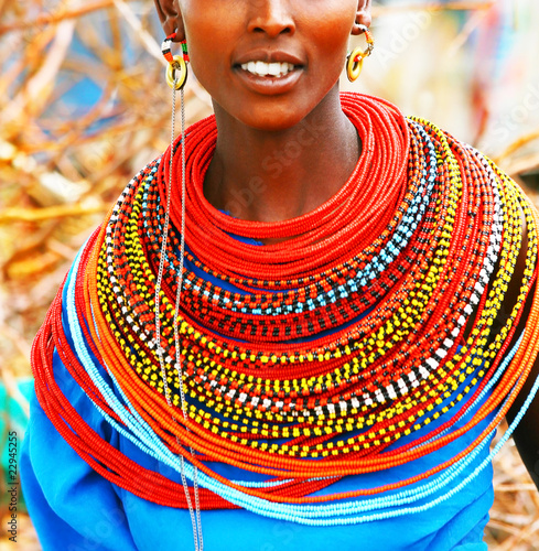 Fotografie, Obraz  Beautiful African lady
