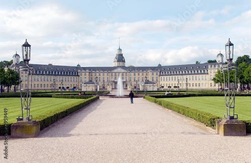 Fotografie, Obraz  karlsruhe castle