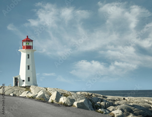 Peggy`s Cove lighthouse Fototapeta