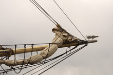 Bowsprit With Two Seagulls