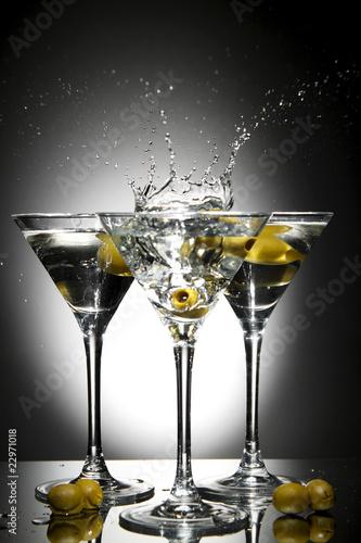 Fotografía  Splash martini