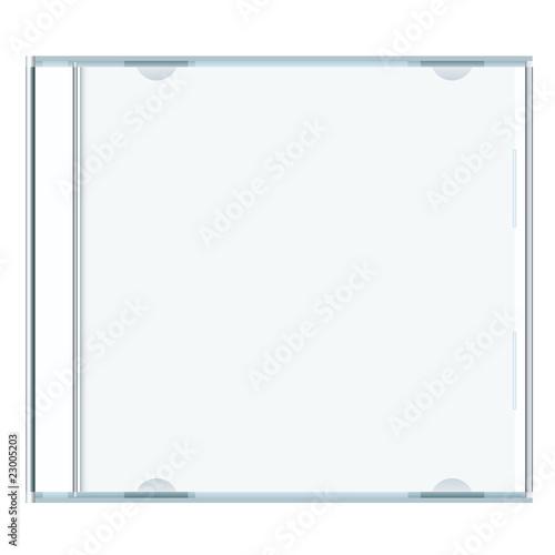 Obraz blank cd case - fototapety do salonu