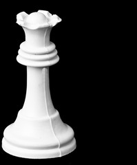 chess white queen