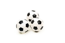 Three Classic Soccer Balls (is...