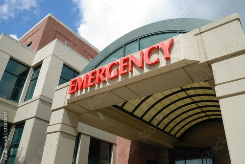 Cuadros en Lienzo  Emergency Room Sign