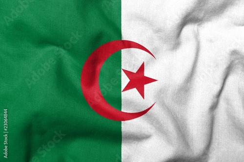 Door stickers Algeria 3D Flag of Algeria