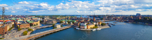 Photo Aerial panorama of Stockholm, Sweden