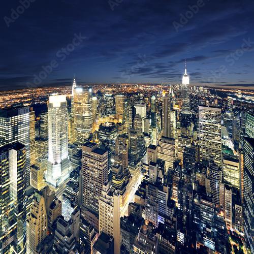 Photo Amazing view to new york manhattan - newyork city