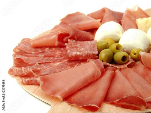 Keuken foto achterwand Voorgerecht Antipasto misto
