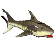 Roboter Shark