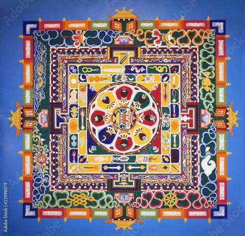 Poster Imagination Mandala