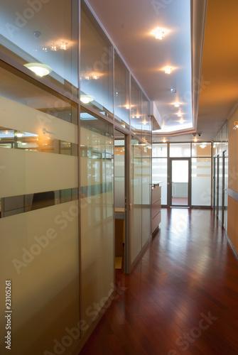 Fototapeta Modern office interior obraz na płótnie