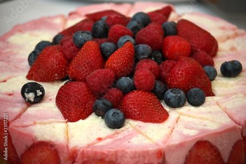 Photo  Fruchtige Sahnetorte
