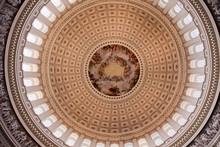 US Capitol Dome Rotunda Apothesis George Washington DC