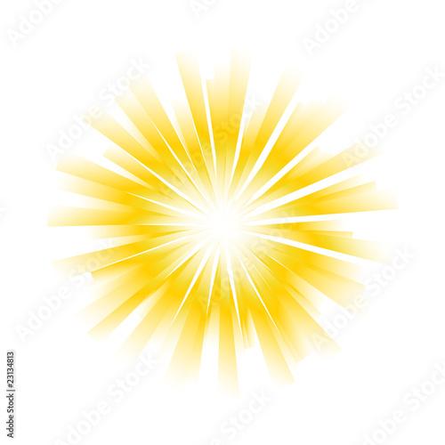 Photo Sunburst vector background