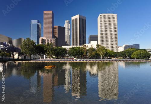 Poster Los Angeles Los Angeles city skyline