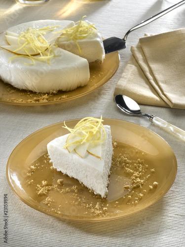 Fotografie, Obraz  parfait au yaourth et à la poire