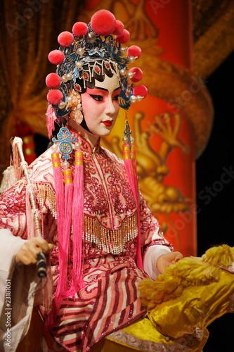 Fotografie, Obraz  cantonese opera dummy