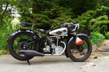 stari vintage motocikl