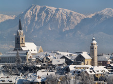 The Town Of Kranj