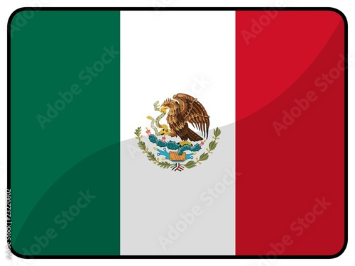 Drapeau Mexique Mexico Flag Buy This Stock Illustration And