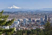 Beautiful Vista Of Portland, O...