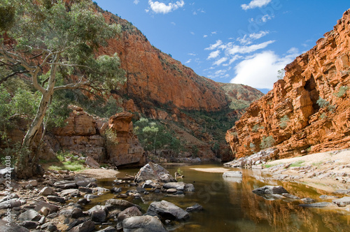 Foto op Canvas Australië View of Ormiston Gorge, Macdonnell Ranges, Australia