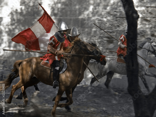 Photo Cavalry Charge