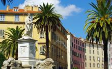 Ajaccio Place Foch Statue Napoleon