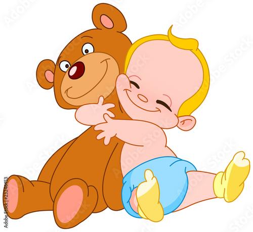 niedzwiedz-przytulic-dziecko