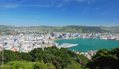 Wellington, capital of New Zealand