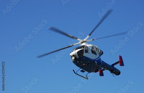 Tuinposter Helicopter Helicopter Hubschrauber