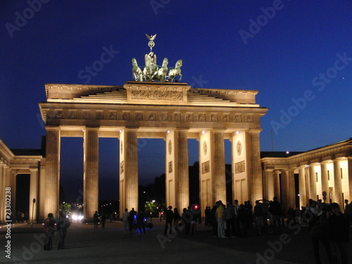 Keuken foto achterwand Berlijn Berlin - Brandenburger Tor