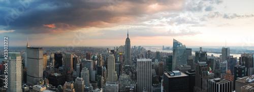 SKYLINE NEW YORK CITY panorama