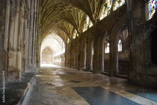 Photo  The Cloister in Gloucester Cathedral