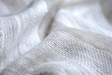 リネン織物