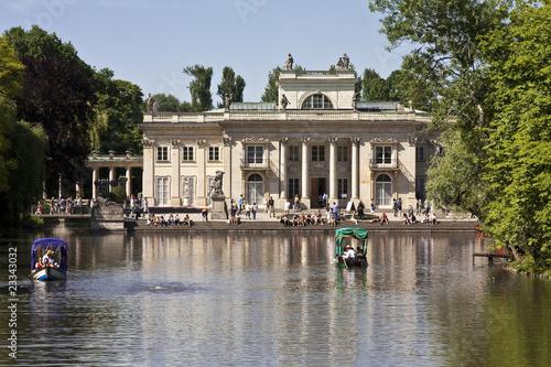 Fototapeta łazienki Królewskie W Warszawie