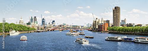 City Of London View From Waterloo Bridge Buy This Stock
